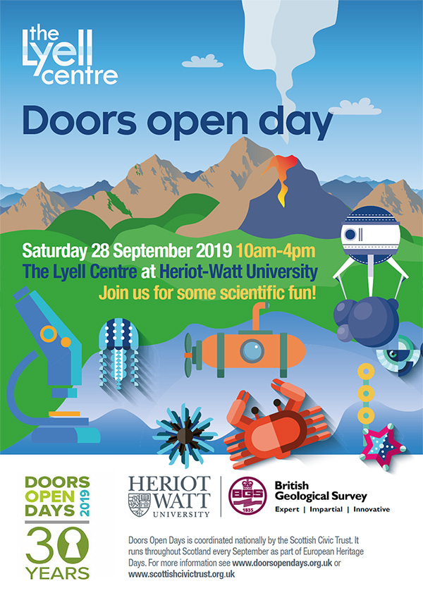 Doors Open Day 2019 poster.