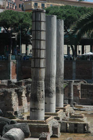 The site in Pozzuoli as it looks today.